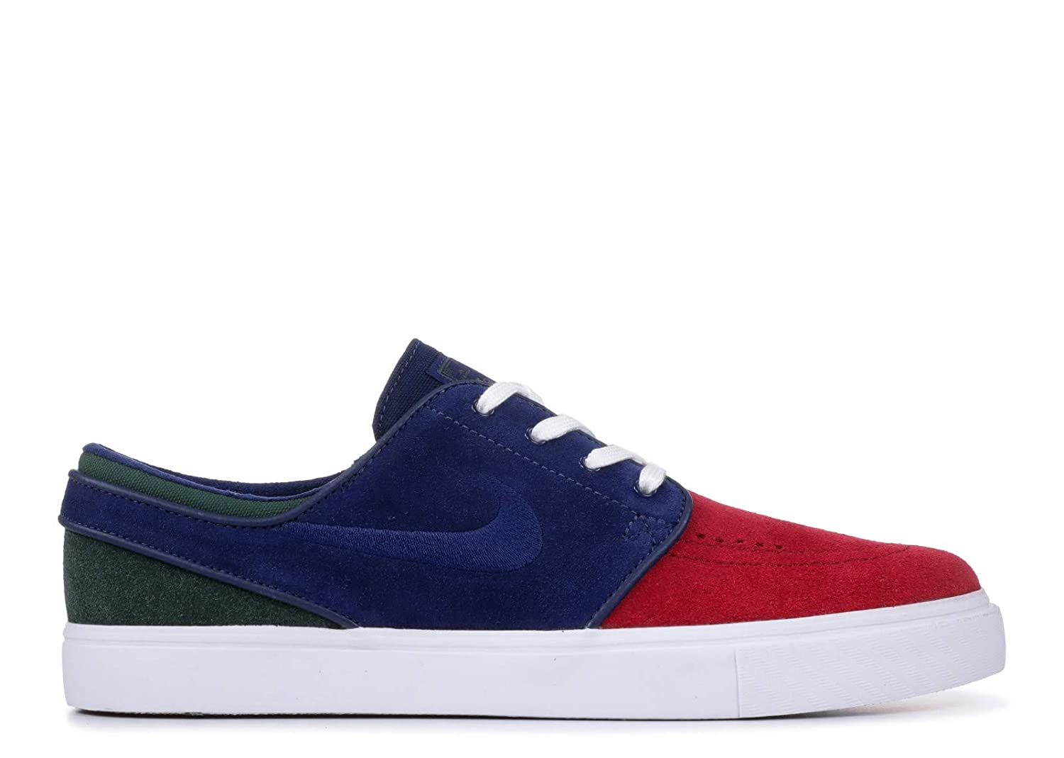 9238962d85 Nike Zoom Stefan Janoski Mens Fashion-Sneakers 333824-641_8.5 - RED  Crush/Blue Void-White-Midnight Green