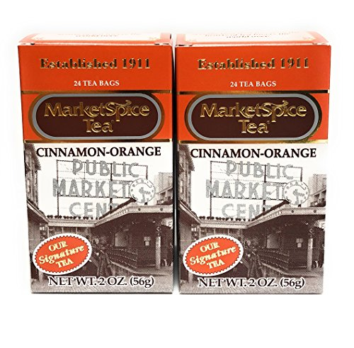 MarketSpice Cinnamon-Orange Tea Bag, 24 count (Pack of 2) Market Spice Teabag