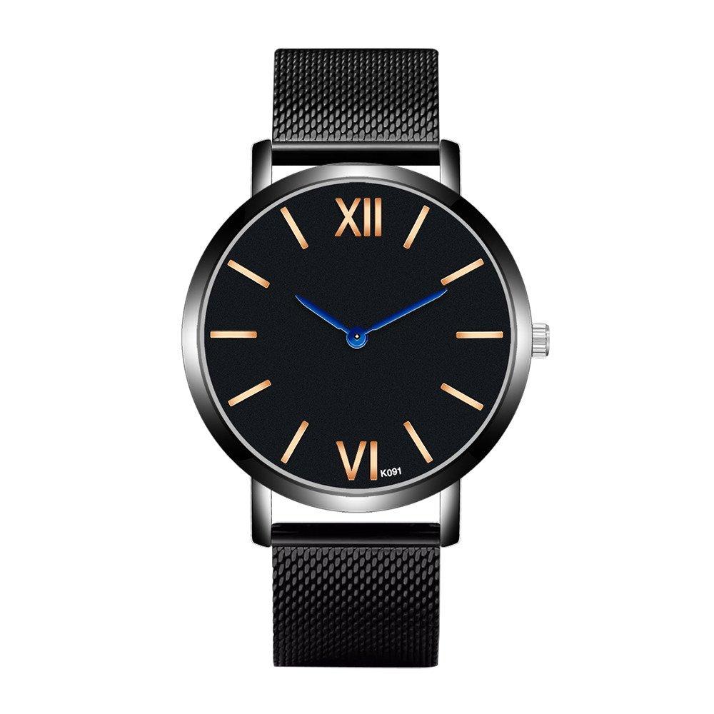 chengzhijianzhu_ Quartz Watches Men'ss 2019 Men Crystal Stainless Steel Analog Quartz Wrist Watch Bracelet Wrist Gift Watch Watches for Men Teen Girls Boys Ladies