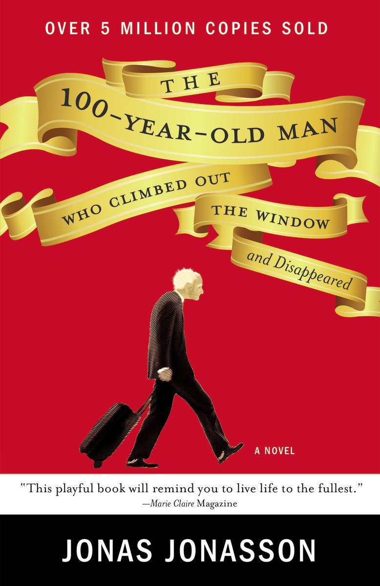 Image result for book cover the 100 year old man