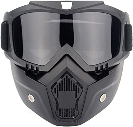 Winter Ski Bike Motorcycle Face Mask Goggles Anti-UV Windproof Glasses Eyewear