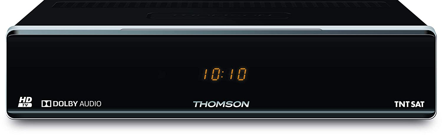Thomson THS804 - Receptor satélite HD, (MPEG4, USB, 12 V), color ...