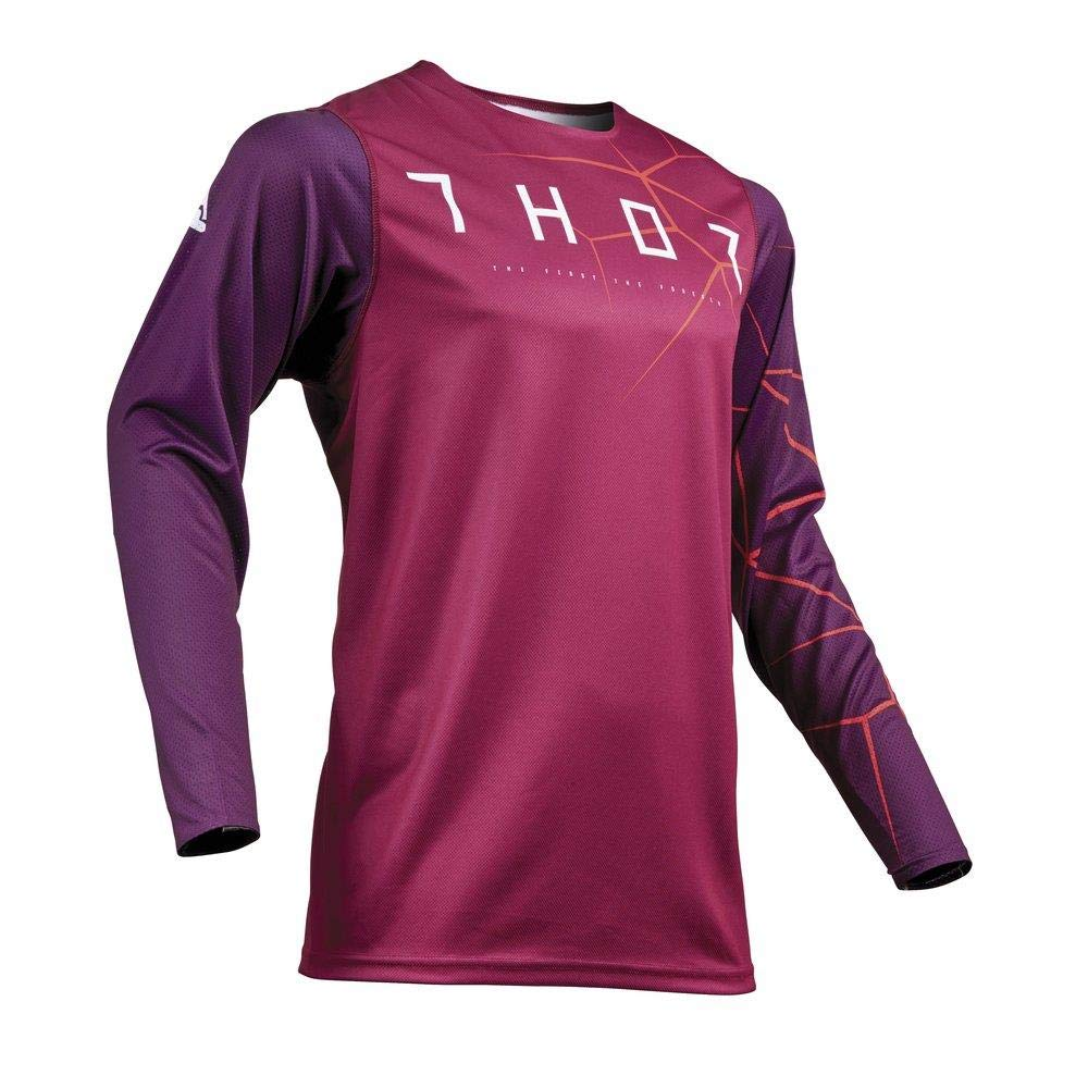Thor Prime Pro Infection Motocross Jersey 2019 Maroon rot