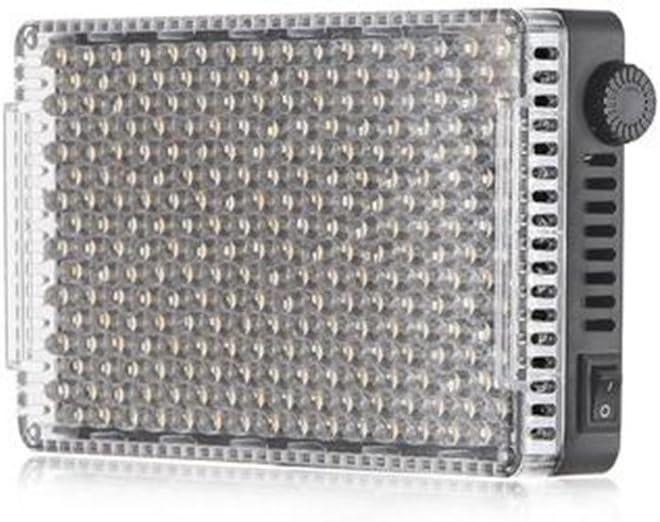 Aputure H198 Upgrade Version Aputure AMARAN AL-F7 256 LEDs On Camera Light,Bi-Color 3200-9500K Adjustable Brightness /& Color Temperature