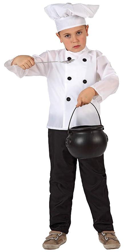 Disfraz de Cocinero para niños de 3 a 4 años