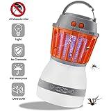 Texsens Bug Zapper & Camping Lantern IP67 Rainproof 2-in-1 Cordless Mosquito Killer Lamp Rechargeable & Portable for Indoor/Outdoors & Emergencies