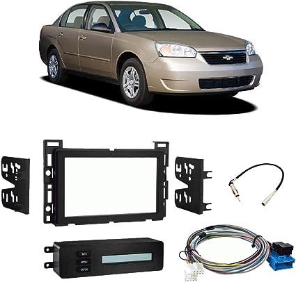 2006 Chevy Malibu Maxx Radio Dash Mount Kit for Car Stereo+Wire Harness 06