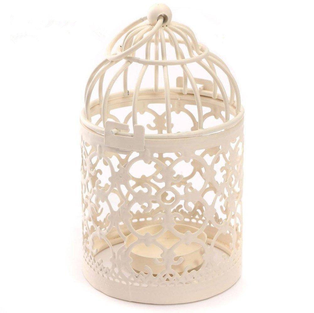 Lubier Scavato Iron Art candeliere, stile europeo creative Home Bird Cage, motivo decorativo, metal Craft decorazione
