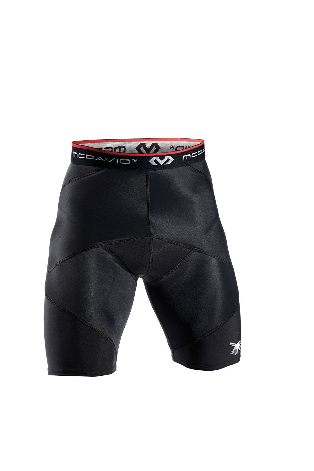 McDavid Cross Compression Shorts, Black, XX-Large