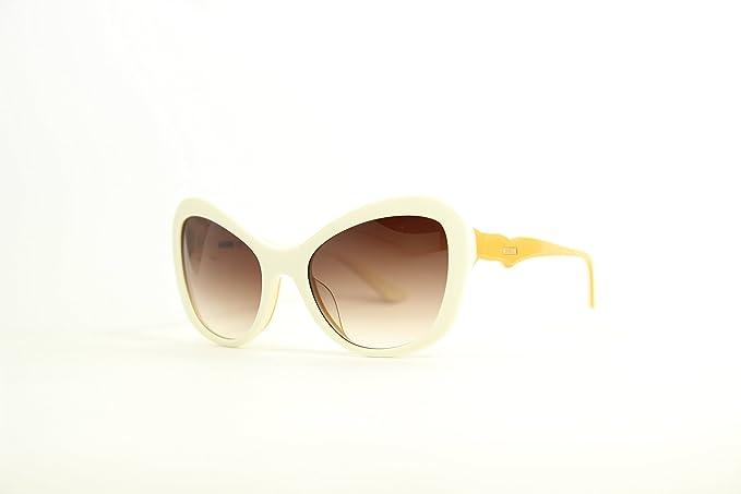 Moschino MO-73303-SA Gafas de Sol, Beige/Yellow, 56 para ...
