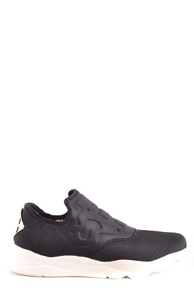 cb122ed9be283 Reebok Women s MCBI253004O Black Fabric Sneakers  Amazon.co.uk ...