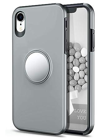 Amazon.com: HoneyAKE Funda para iPhone XR con soporte ...