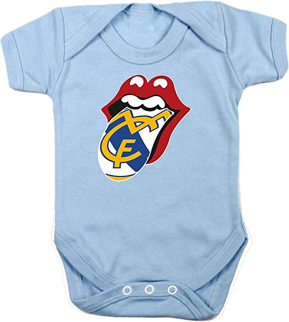 Body Bebé Stones madridistas Adulto/niño Camisetas del Real Madrid Merengues: Amazon.es: Ropa y accesorios