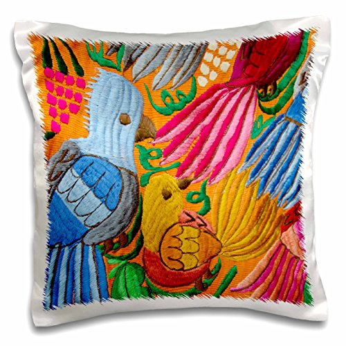 3dRose Guatemala Livingston Embroidery tropical