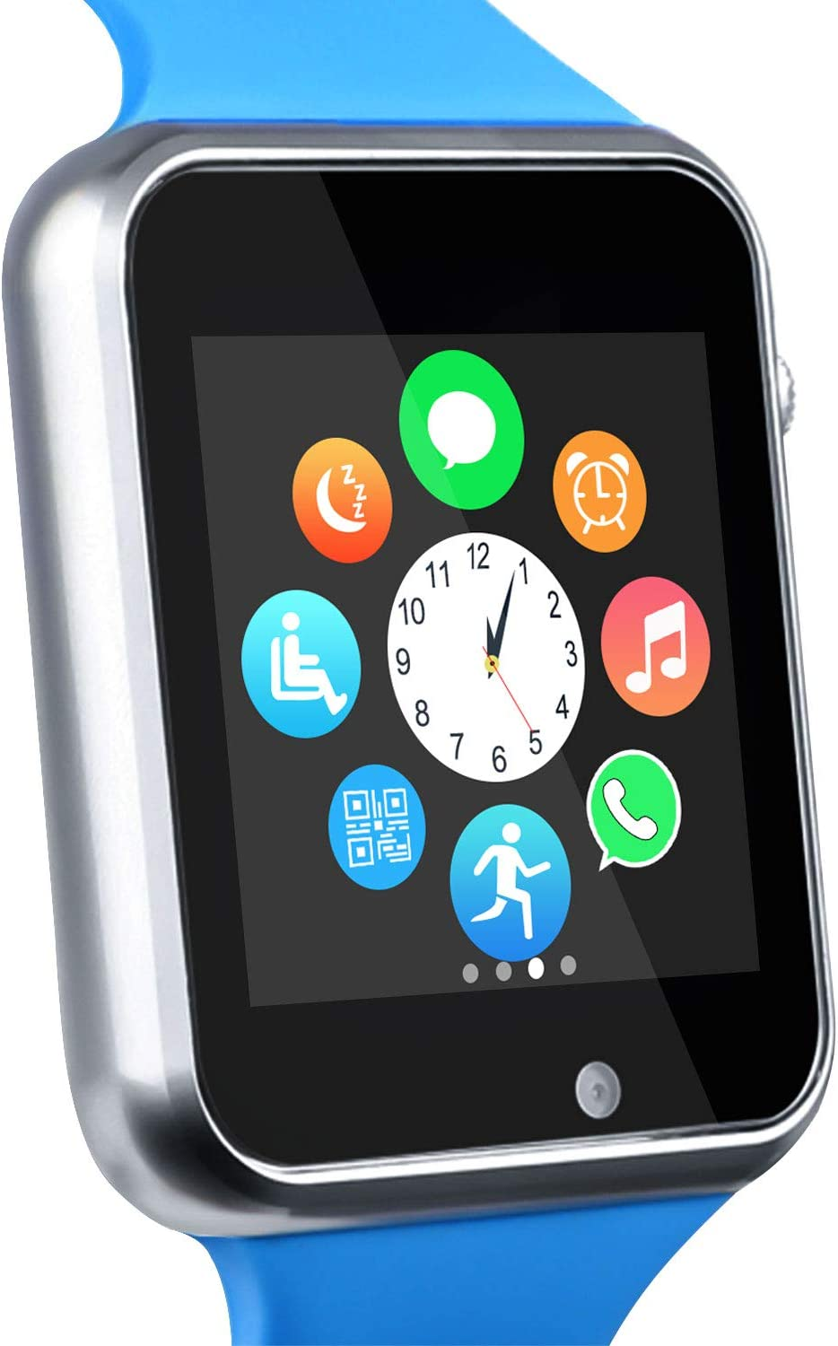 Funntech Smart Watch for Android Phones with Unlocked 2G GSM Phone Call