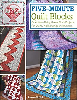 750d83807 Five-Minute Quilt Blocks  One-Seam Flying Geese Block Projects for Quilts