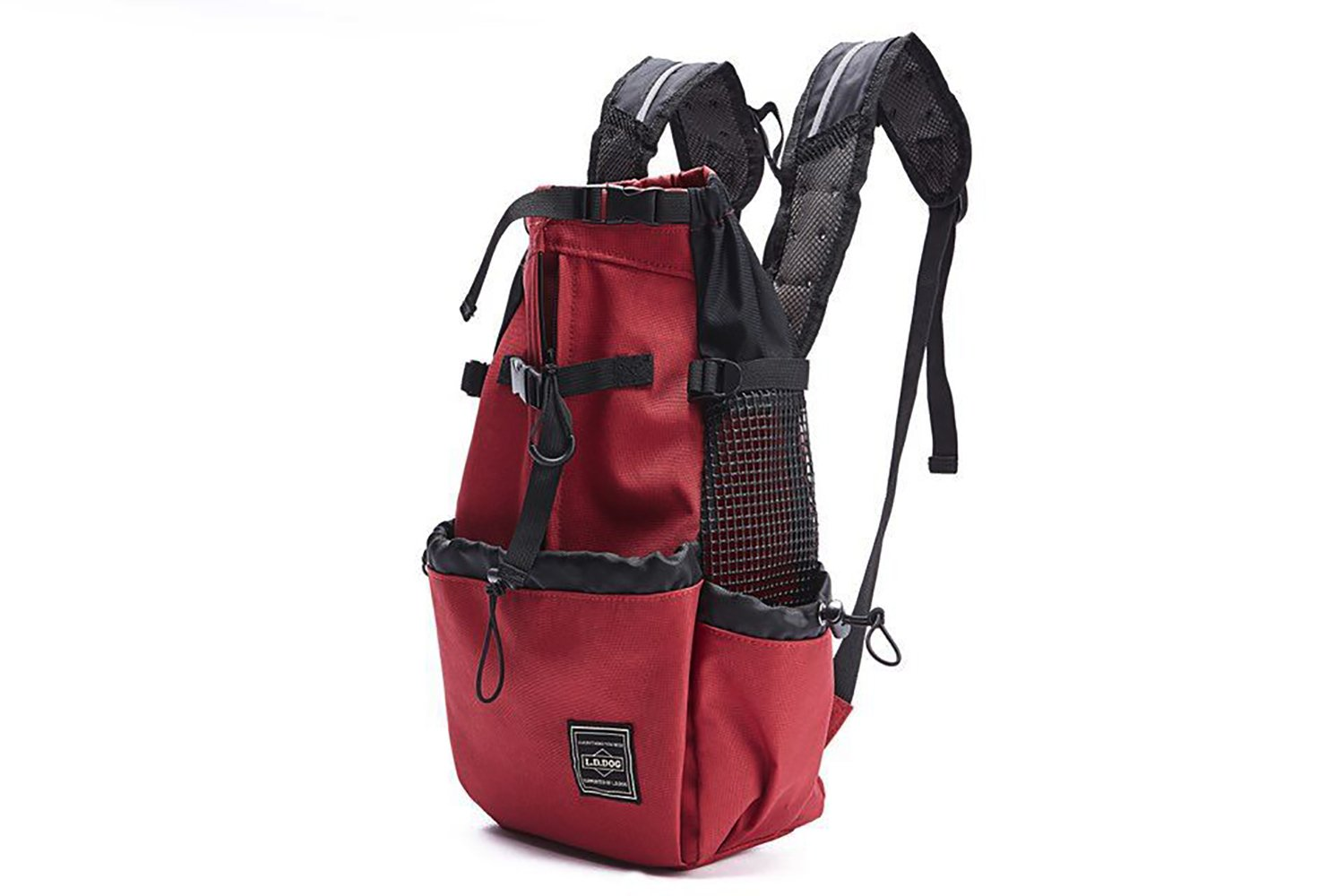 Red L Red L RONGXIN Breathable Travel Bag Made of Pet Bag, Pet Chest Backpack (S, L, M, XL)