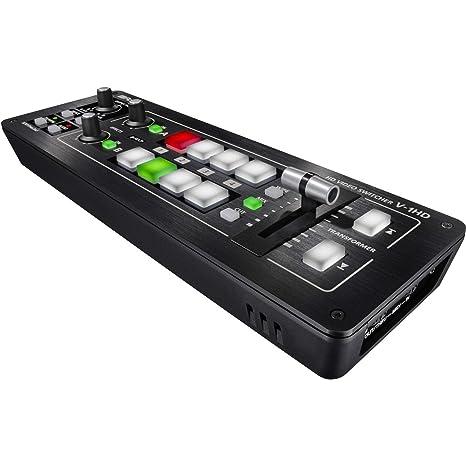 Roland V-1HD HD conmutador de vídeo: Amazon.es: Instrumentos ...