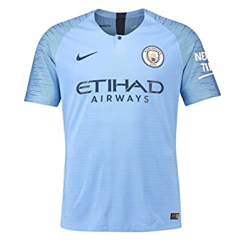 Nike 2018-2019 Man City Vapor Home Match Football Soccer T-Shirt Camiseta: Amazon.es: Deportes y aire libre