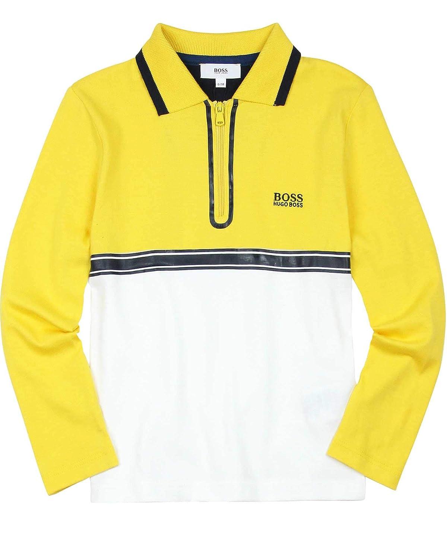 BOSS Boys Two Colour-Way Polo Sizes 6-16
