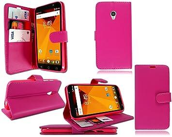 PIXFAB para Vodafone Smart Turbo 7 Funda de Piel Tipo Cartera teléfono móvil + Protector de Pantalla, Piel sintética, Cartera: Amazon.es: Electrónica