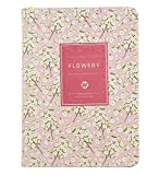 Ai-life Personal Daily Planner Calendar Schedule Organizer Appointment Book(132x195mm), and Journal Notebook, Bound To-Do List Book - Daily Planner To Do Pad - Best Agenda Day Planner, Flora Pattern