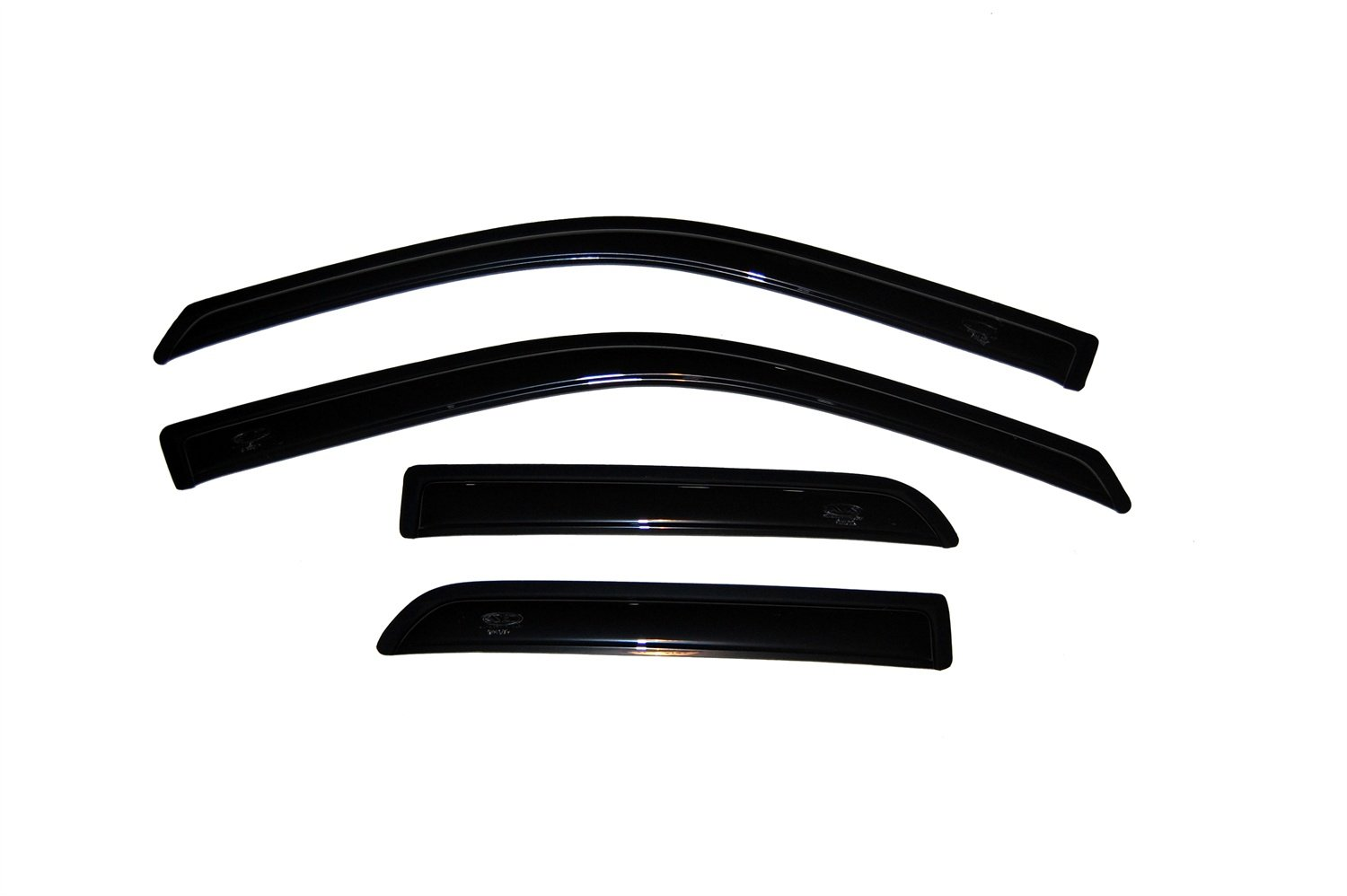Auto Ventshade 94101 Original Ventvisor Side Window Deflector Dark Smoke, 4-Piece Set for 2009-2018 Dodge Ram 1500; 2019 Ram 1500 Classic , Fits Quad Cab by Auto Ventshade