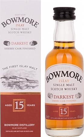 Bowmore - Islay Single Malt Miniature - 15 year old Whisky