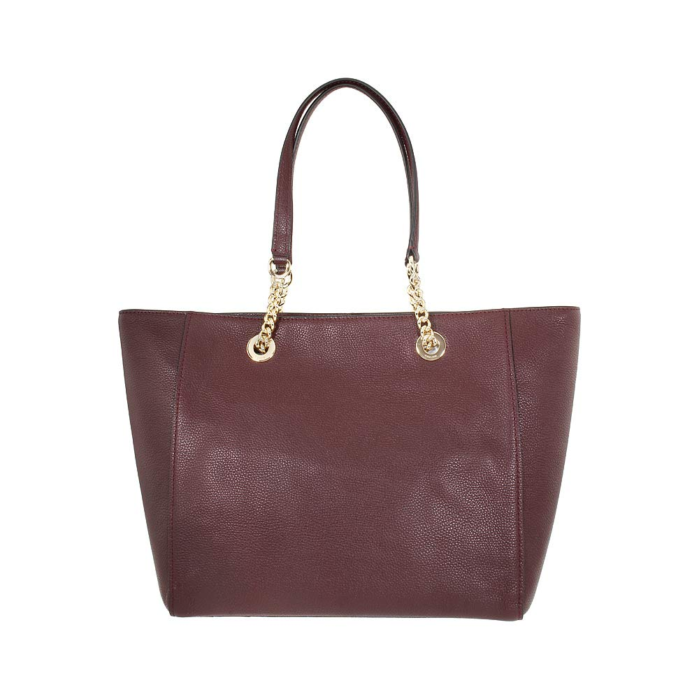 CDM product COACH Women's Pebbled Turnlock Chain Tote small thumbnail image