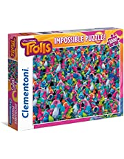 Clementoni 39369 - Trolls - 1000 stukjes puzzel (zwaar)
