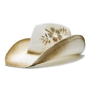 Sunhat-TX Sombrero - Sombrero de Vaquero Occidental de Vaquero para Mujer 35fe524462f