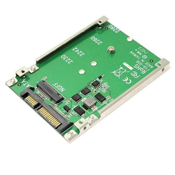 BeMatik - Adaptador SATA a disco duro SSD NGFF M.2 de un puerto ...