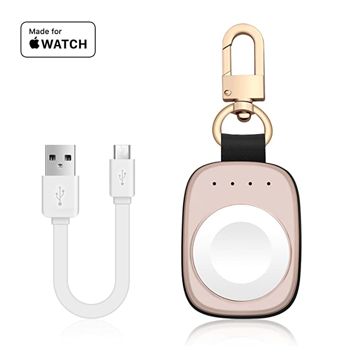Chargers Reliable Keychain Wireless Charger For Phone Watch Portable Magnetic Charger Built In Power Bank For Iwatch Iphone
