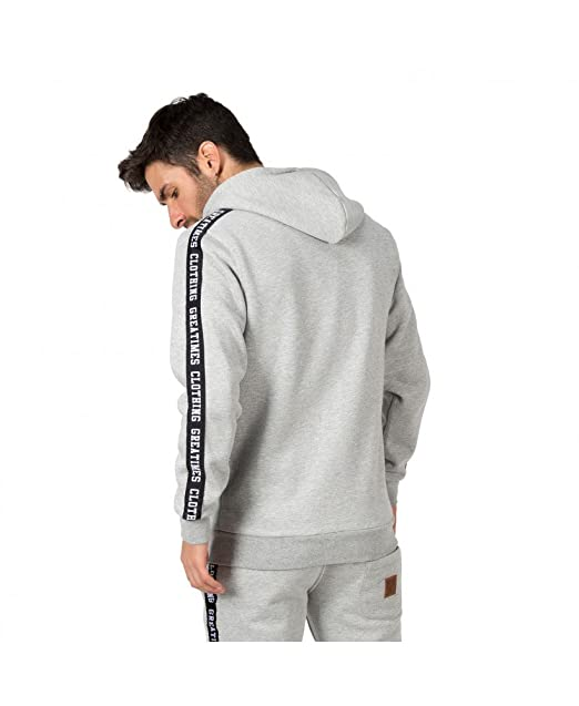 Sudadera Chandal Great Times FW17 Gris - Color - Gris, Tallas - XL ...