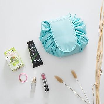 Kit organizador de maquillaje portátil e impermeable, bolso de cosméticos grande, moda para joyería de mujer, neceser para cuarto de baño, ...