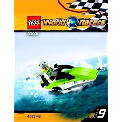 LEGO World Racers Set #30031 Powerboat: Toys & Games