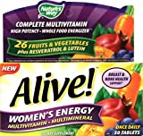 Nature's Way Alive! Women's Energy Multivitamin Multimineral – 50 tabs (PACK OF 2)
