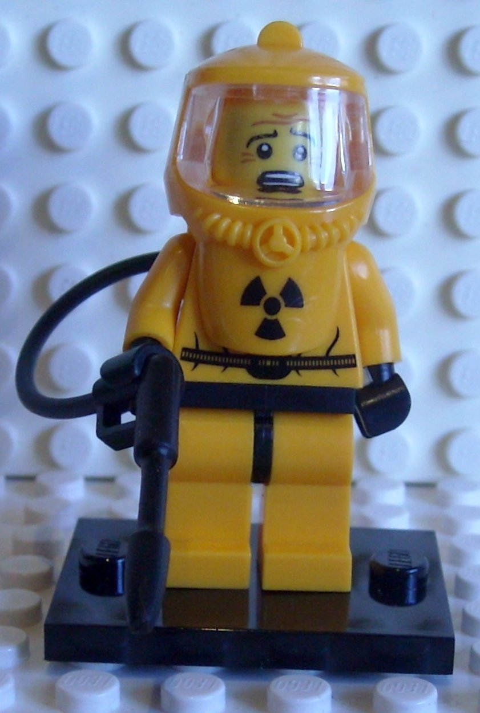 LEGO 8804 Minifigures Serie 4 - Minifigura con Traje Anti ...