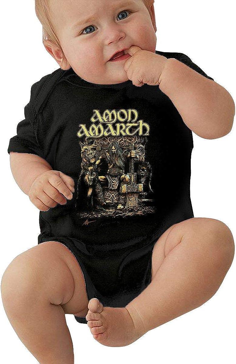 DanielCJackson Amon Amarth Unisex Baby Jersey Bodysuit Cute Sleeve Onesies Child Bodysuits T-Shirt