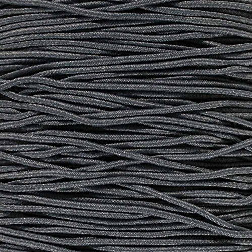 """Paracord Planet 2.5mm 1/32"""", 1/16"""", 3/16"""", 5/16"""", 1/8"""", 3/8"""", 5/8"""", 1/4"""", 1/2 inch Elastic Bungee Nylon Shock Cord Crafting Stretch String – Various Colors –10 25 50 & 100 Foot Lengths Made in USA"""