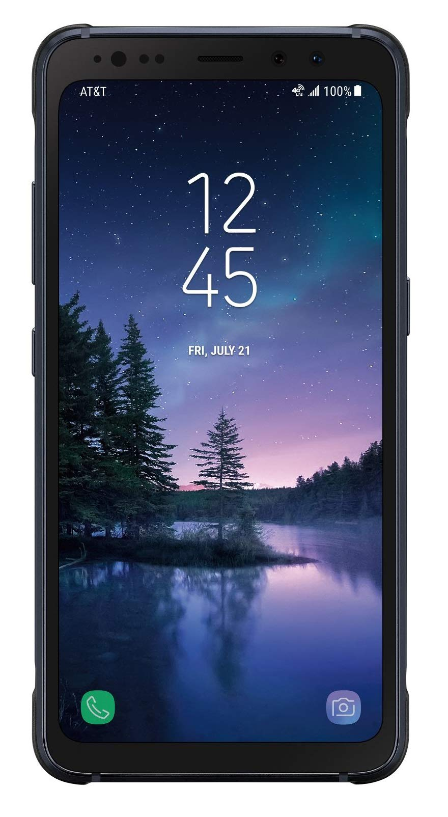 Samsung Galaxy S8 ACTIVE Durable & Water Resistant Smartphone for AT&T - Meteor Gray (Renewed)