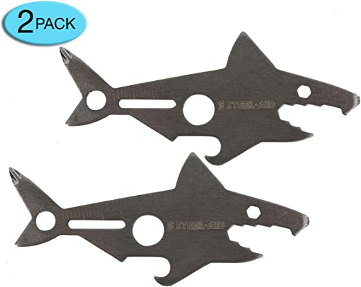 Lot of 12 pc Shark Key Chain Bottle Opener New