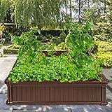 Giantex Raised Garden Bed, Planter for Flower