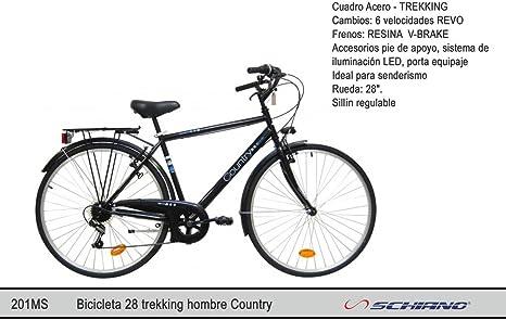 Bicicleta 28 trekking hombre Country: Amazon.es: Juguetes y juegos