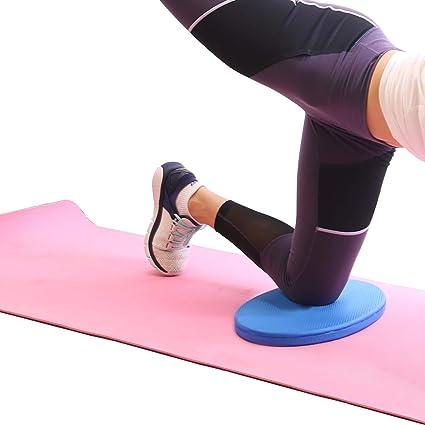 5BILLION Almohadilla de Rodilla, Rodilleras de Yoga, Amortiguador de Yoga para el Dolor Libre de Yoga Pilates Fitness Rodilla de muñeca Codo Soporte