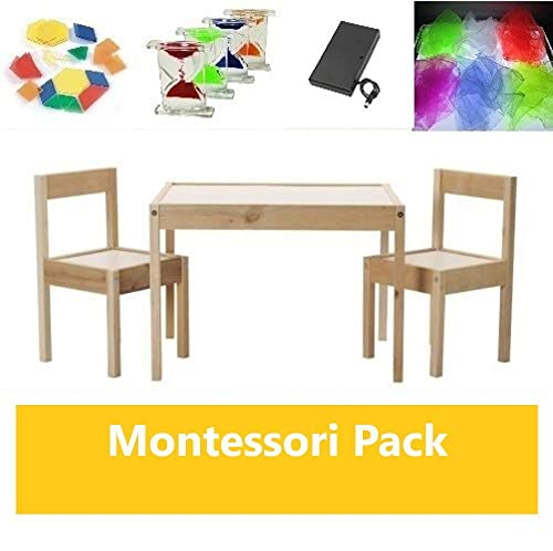 Pack mesa de luz Montessori RGBW 64x48cm + materiales: Amazon.es ...