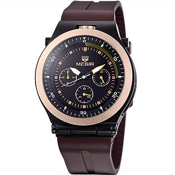 North King Deportivo Reloj de Cuarzo Relojes Fecha Pantalla Hombres Reloj de Cuarzo Reloj Relojes Bonitos para Regalo de cumpleaños de Adultos: Amazon.es: ...