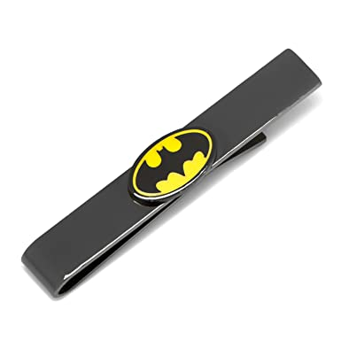 486bceaac7b6 Image Unavailable. Image not available for. Color: DC Comics Black Transparent  Enamel Batman Tie Bar ...