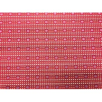 Image of Fabric Upholstery Drapery Bedding Small Geometric Design on Red II 30 Yard Bolt ROLL (American Drapery Shop) Home and Kitchen