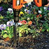 Kyпить Flower Bulb Planter Attachment, Use With Cordless Drill на Amazon.com